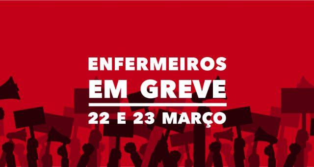 Pré-aviso de greve para 22 e 23 de março