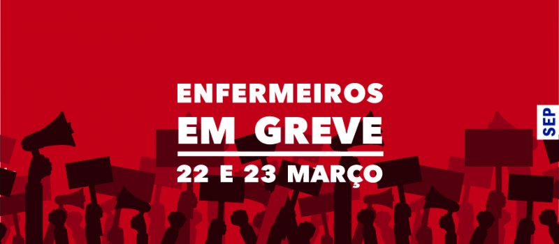 Greve nacional dos enfermeiros a 22 e 23 de março