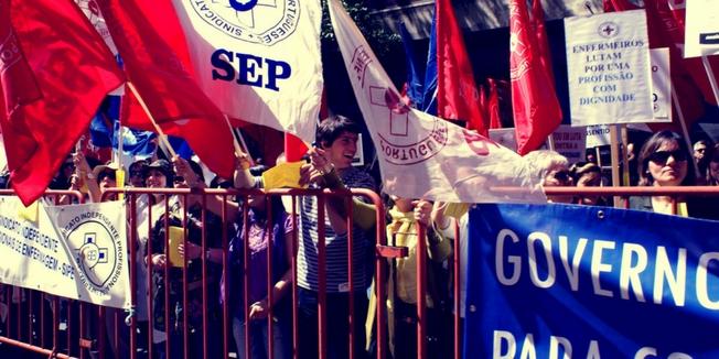 SEP | Manifestação no Dia Internacional do Enfermeiro - 2009
