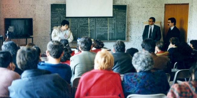 SEP | Ação de Formação sobre avaliação do desempenho - 1993