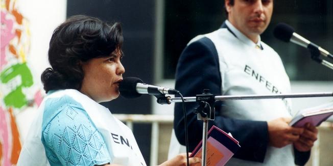 SEP | Concentração Ministério da Saúde - 2000