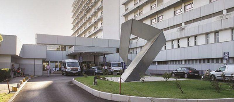 Degradação do bloco operatório do Hospital de Santarém