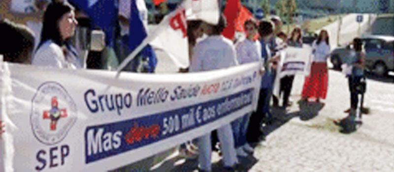 30.000 horas em dívida aos enfermeiros no Grupo Mello Saúde da PPP Braga
