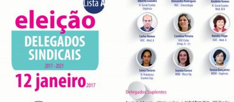 Eleição de Delegados Sindicais no Centro Hospitalar e Universitário de Coimbra