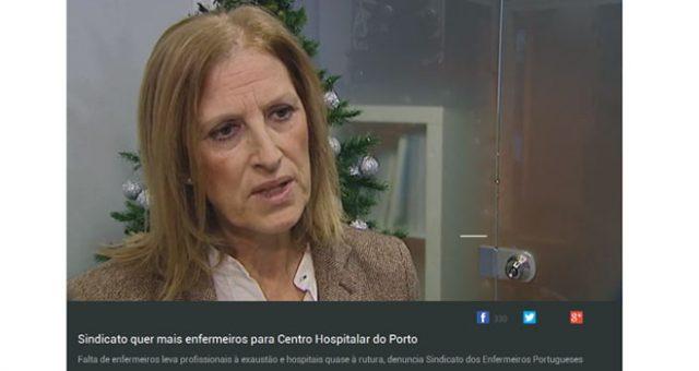 Serviços do Centro Hospitalar do Porto em rutura