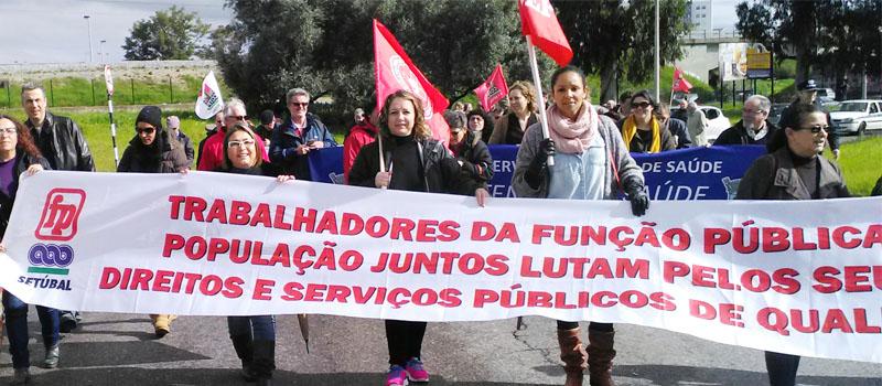 Barreiro, Moita e Alcochete em marcha de protesto, exigem mais profissionais de saúde