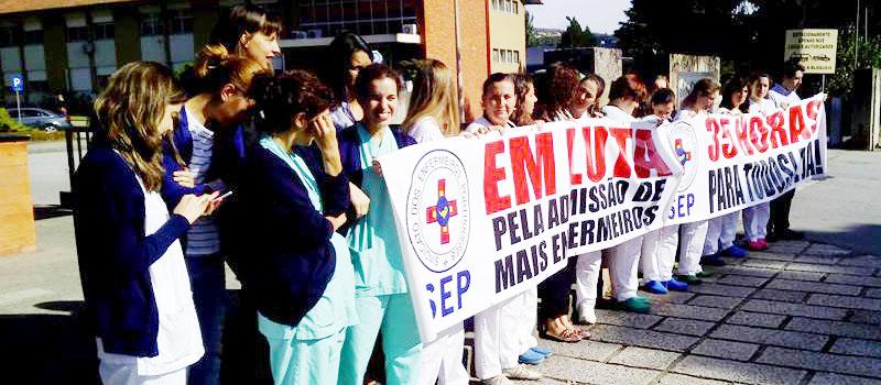 Concentração a 18 de maio, às 9 horas, no Hospital das Caldas da Rainha