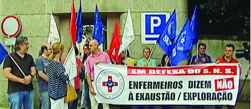 37 enfermeiros do Centro Hospitalar de Vila Nova de Gaia/Espinho em risco de despedimento