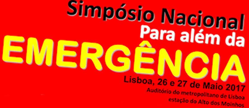 Simpósio Nacional para além da emergência