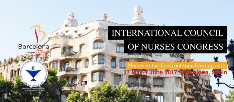 Estamos presentes na 26ª edição do Congresso Internacional dos Enfermeiros