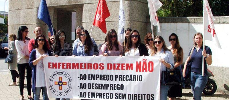 Regularização dos vínculos precários no Centro Hospitalar de Vila Nova Gaia/Espinho