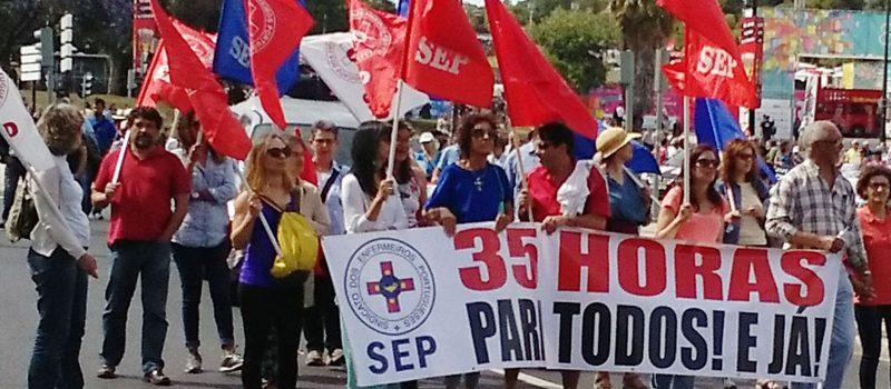 Manifestação de 3 de junho: enfermeiros exigem concretização dos compromissos