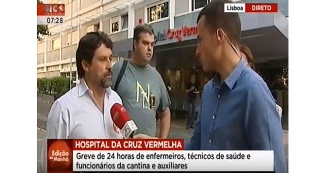 Hospital da Cruz Vermelha: greve por aumentos salariais e Acordo de Empresa