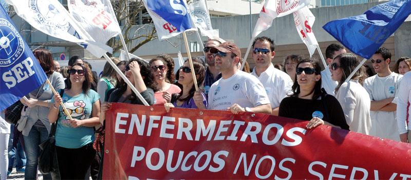 Repete-se a carência de enfermeiros nos hospitais do distrito do Porto