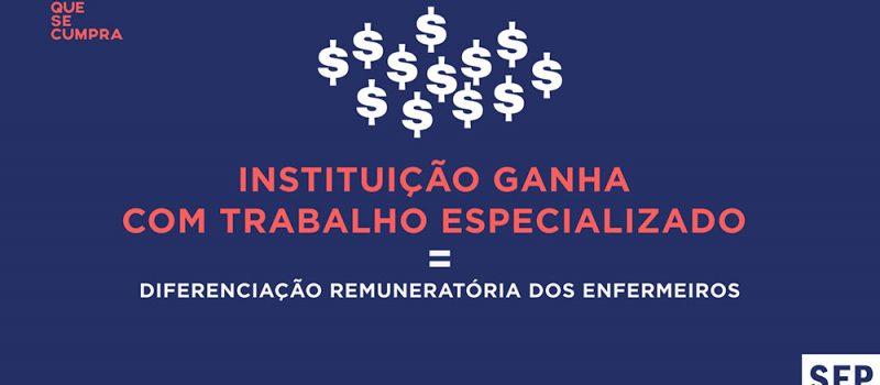 Após reunião: balanço sobre diferenciação remuneratória para TODOS os enfermeiros especialistas