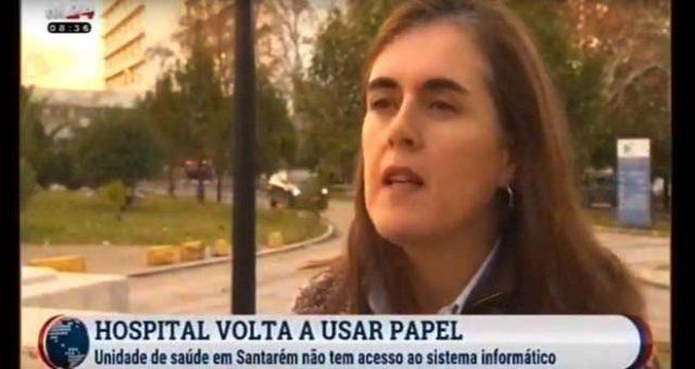 Hospital de Santarém sem sistema informático e sem condições na Urgência