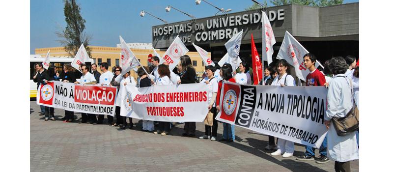 Concentração nos Hospitais da Universidade de Coimbra