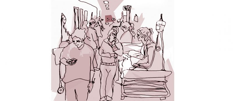 Hospital Santa Maria em ruptura