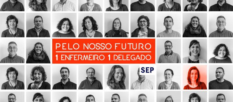 Sónia Lopes:  1 Enfermeira, 1 Delegada