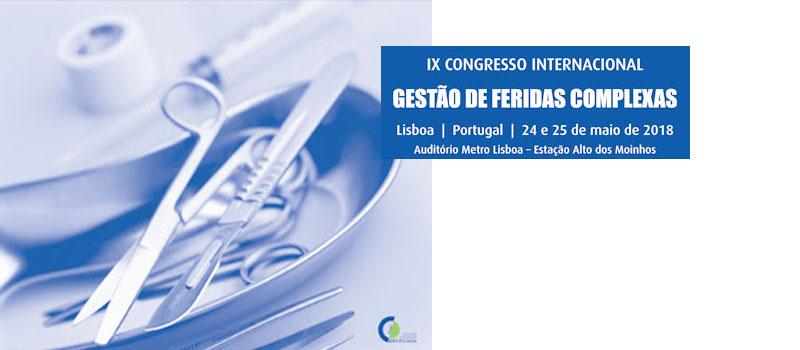 IX Congresso Internacional Gestão de Feridas Complexas