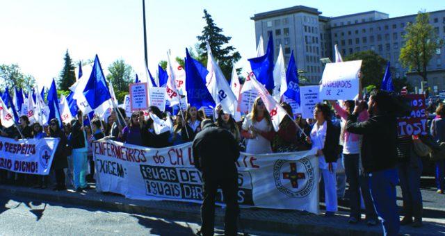 Greve e concentração no Hospital Santa Maria dia 24 maio