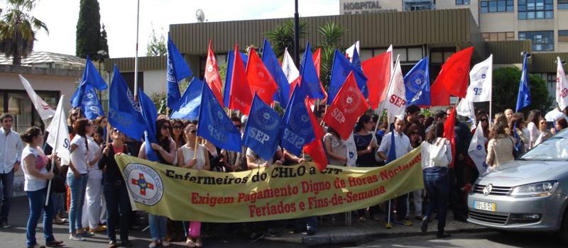 Greve e concentração no Centro Hospitalar Lisboa Ocidental a 1 junho