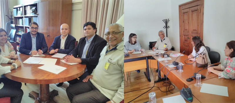 Reunião com os partidos políticos sobre condições do exercício profissional no Alentejo
