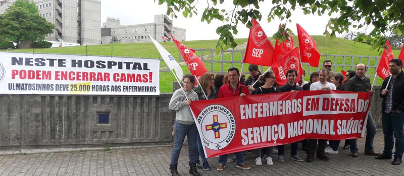 Adesão de 83% na greve da ULS Matosinhos