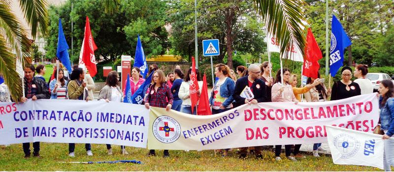 Hospital Amadora Sintra: reclama-se o justo descongelamento das progressões