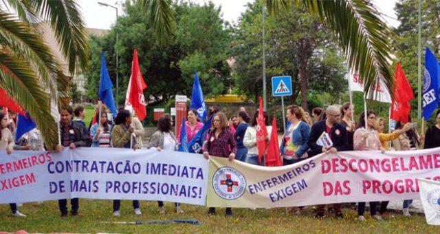 Greve dos enfermeiros garante contratações – mas precárias para funções permanentes