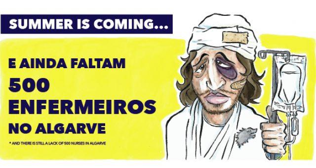 Campanha do SEP alerta para falta de 500 enfermeiros no Algarve