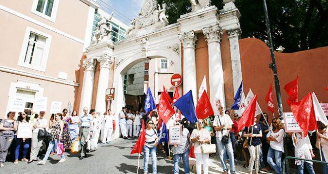 Greve a 8 de agosto no Centro Hospitalar Lisboa Central