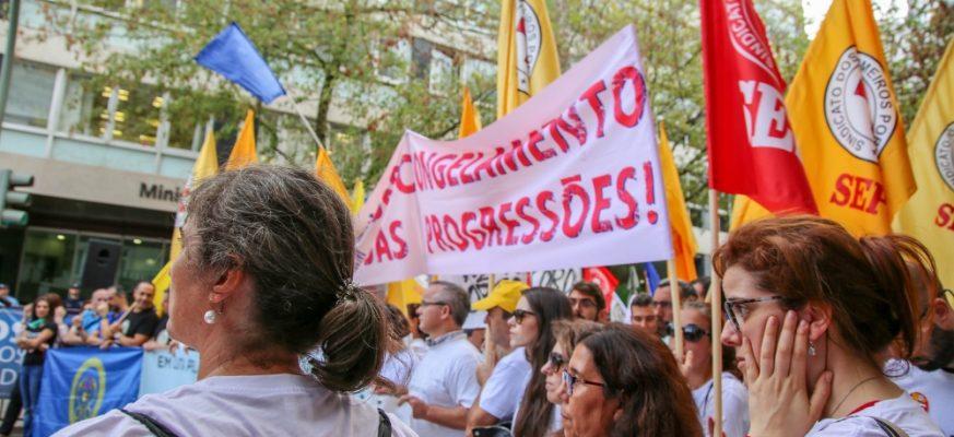 SEP | progressões enfermeiros - manifestação Lisboa