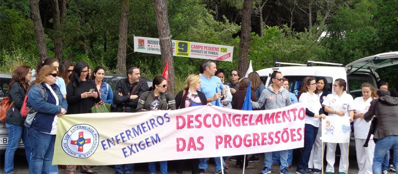 Greve no CH Lisboa Ocidental a 13 dezembro