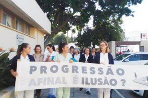 Enfermeiros atingiram as 1.000 assinaturas pela progressão justa