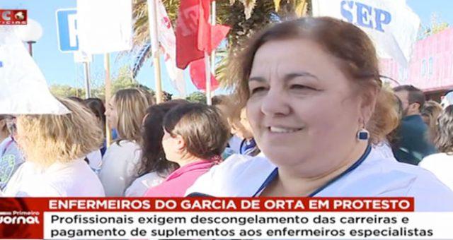 Enfermeiros do Garcia de Orta admitem novas formas de luta