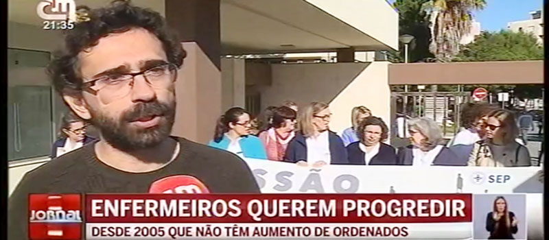 SEP | Concentração na ARS do Algarve - progressões