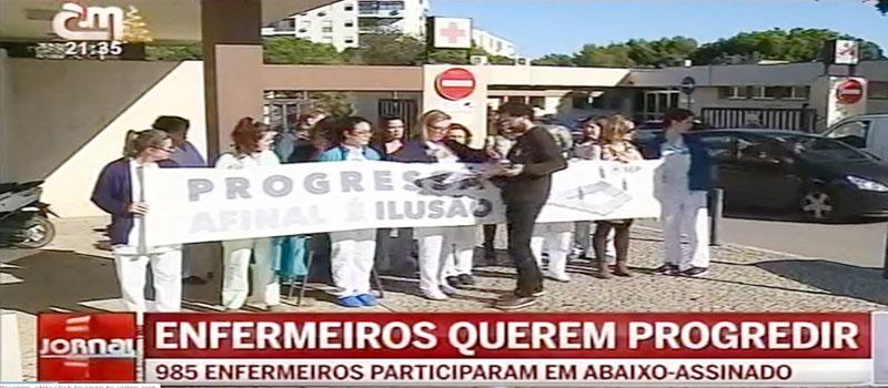Quase mil enfermeiros do Algarve participaram num abaixo-assinado