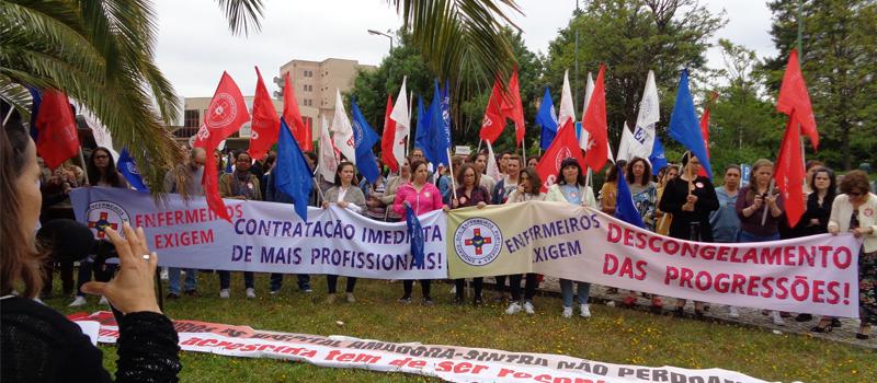 Amadora Sintra rouba anos de serviço na progressão da carreira