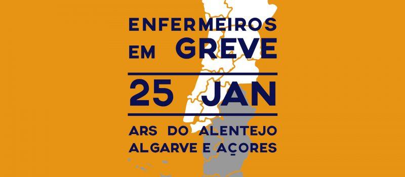 Diretivas de greve para 25 de janeiro