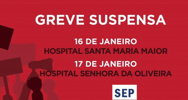 Entendimento suspende greve de 16 e 17 janeiro