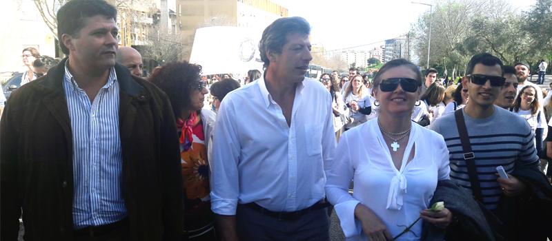 Pela Enfermagem o SEP participa na marcha