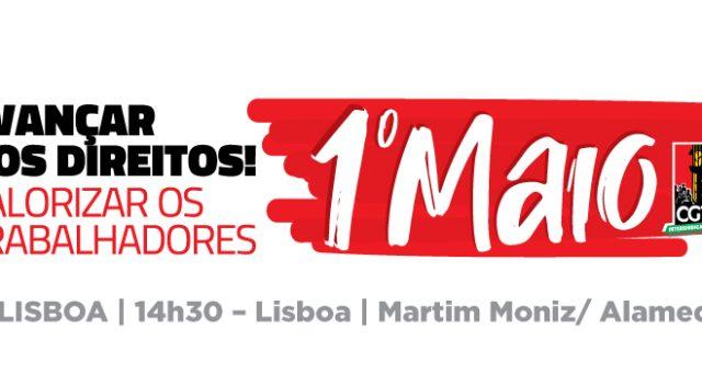 1º maio: Avançar nos direitos valorizar os trabalhadores