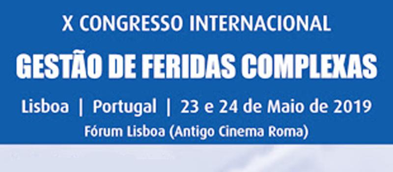X Congresso Internacional de gestão de feridas complexas