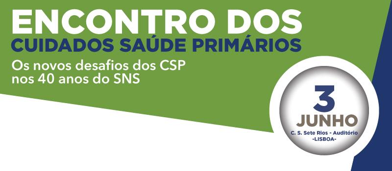 Encontro dos Cuidados de Saúde Primários: Lisboa e Setúbal