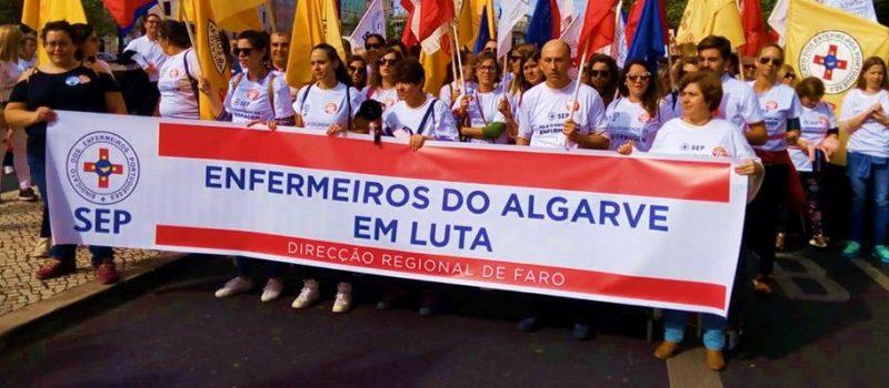 ARS Algarve bloqueia enfermeiros: greve 22 e 23 agosto