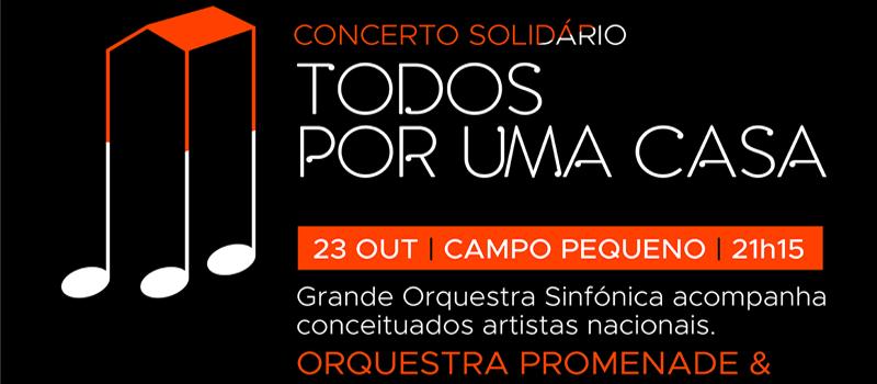 Concerto Solidário oncologia: 23 outubro
