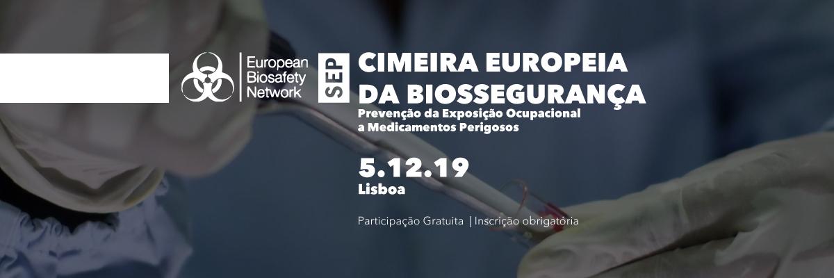 Cimeira da Rede Europeia de Biossegurança 2019