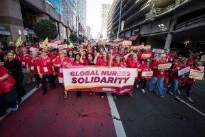Global Nurses United exige orientações mais musculadas à OMS