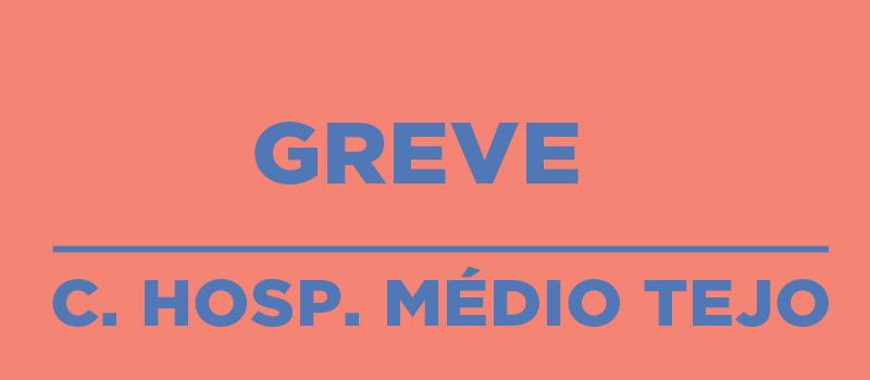 C. Hospitalar Médio Tejo em greve a 30 de janeiro